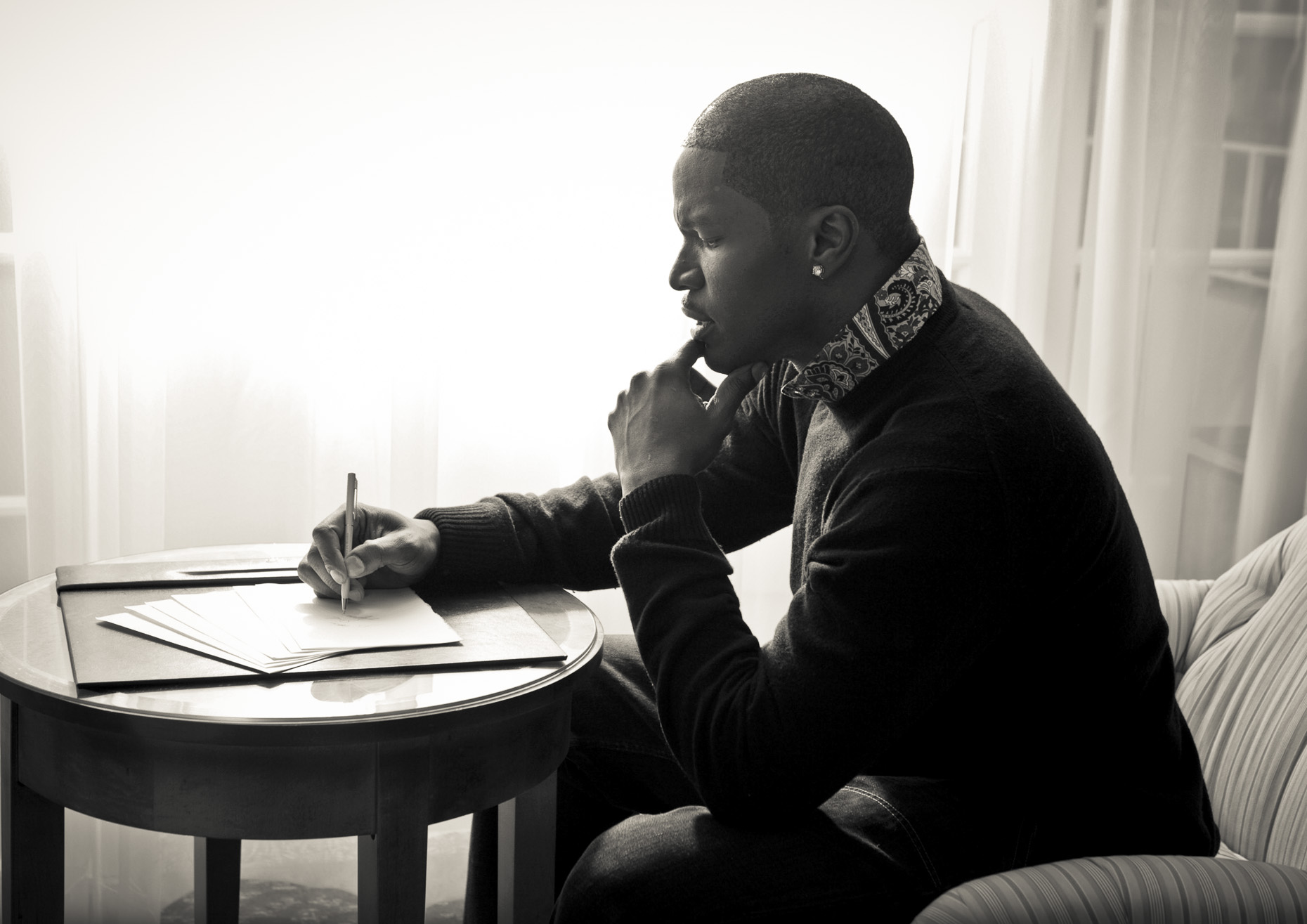 Justin_Jay_Jamie Fox writing